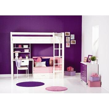 Trendy Girl High Sleeper Bedroom Set Wayfair UK