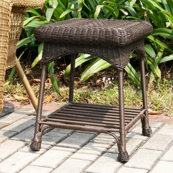Jeco Patio End Table & Reviews