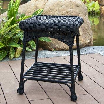 Wicker Lane Patio Furniture End Table Reviews Jujin050509