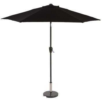 sturdi 3m aluminium crank parasol wayfair uk. Black Bedroom Furniture Sets. Home Design Ideas