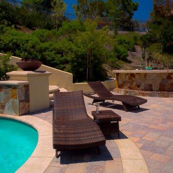 Strong Home Loft Concept Armando 3 Piece Outdoor