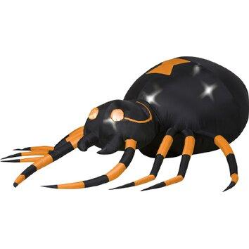 Gemmy industries airblown animated spider halloween for Animated spider halloween decoration