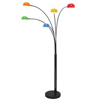Curve five arm floor lamp wayfair uk for Curva 2 floor lamp