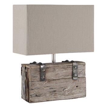 44cm Table Lamp In Chrome Wayfair UK