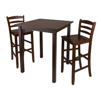 Winsome Parkland 3 Piece Pub Table Set Amp Reviews Wayfair
