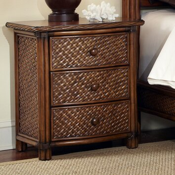 Home Styles Marco Island 3 Drawer Nightstand Amp Reviews