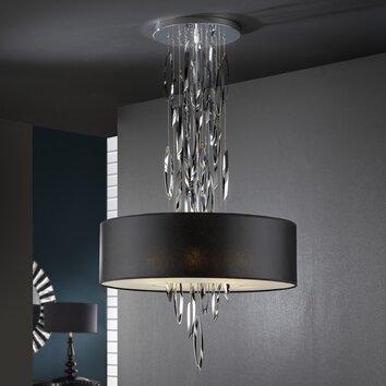 pendelleuchte 4 flammig domo wf. Black Bedroom Furniture Sets. Home Design Ideas