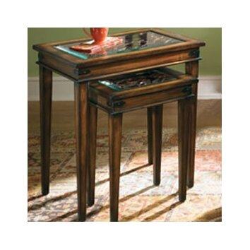 Hammary Hidden Treasures 2 Piece Nesting Tables amp Reviews