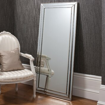 Erias home designs chambery leaner pewter mirror reviews for Erias home designs mirror mastic