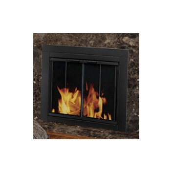 pleasant hearth ascot fireplace screen bi fold track