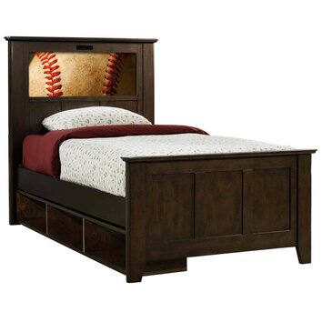 Kids beds wayfair for Panel beds for sale