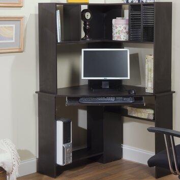 TMS Morgan Credenza Desk and Hutch & Reviews | Wayfair