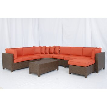 Wayfair : Creative Living Salinas 6 Piece Sectional Deep Seating Group Part 44
