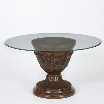 Signature Design By Ashley Ledelle Pedestal Dining Table