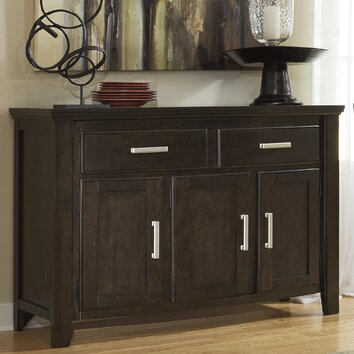 signature design by ashley lanquist dining room sideboard with 3 doors