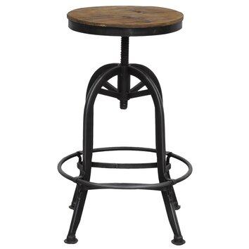 Kosas Home Akron Adjustable Height Bar Stool Allmodern