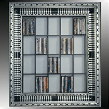 Art Deco Cd Dvd Wall Mounted Storage Wayfair Uk