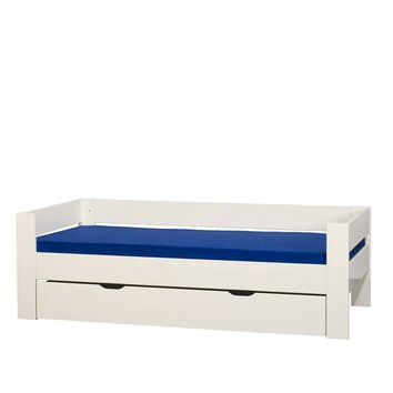 Kids World Single Bed Frame With Drawer