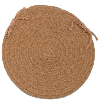 Colonial Mills Jackson Round Braided Chair Pad & Reviews