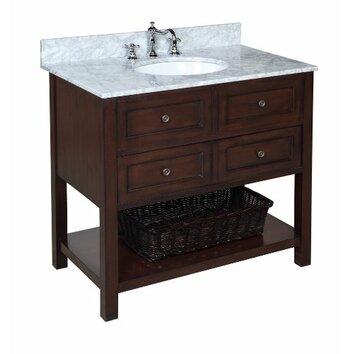 KBC New Yorker 36 Single Bathroom Vanity Set Reviews Wayfair