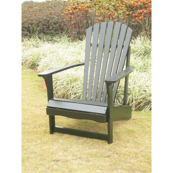 International Concepts Adirondack Chair with Optional Footrest