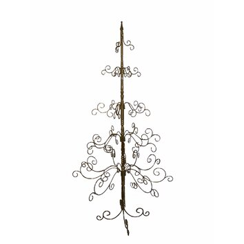 Patch Magic 7 Gold Artificial Christmas Tree W09 XTREE4 PMQ4252 on country rustic living room