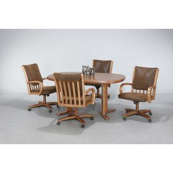 Kitchen Set Chairs Wheels