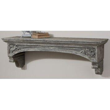 Lusila Fireplace Mantel Shelf  Wayfair