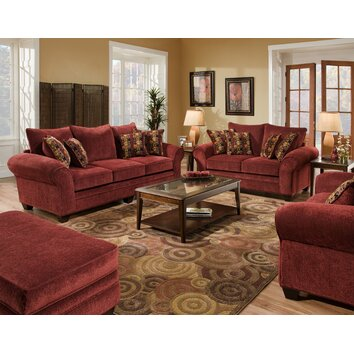 american furniture clayton chenille living room collection 370