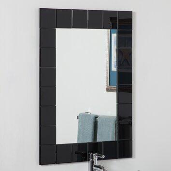 Decor Wonderland Montreal Modern Bathroom Mirror Reviews Wayfair