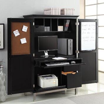 Sunrise Furniture Computer Armoire Desk Amp Reviews Wayfair