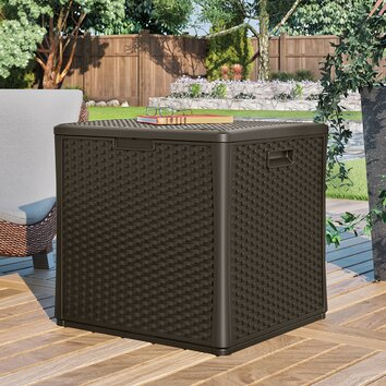 Suncast Cube 60 Gallon Deck Box I & Reviews | Wayfair