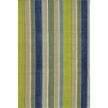 High Low Blue And Green Striped Rugs Riffing On Wayfair