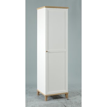 Alpenhome Rochdale 1 Door Wardrobe Reviews Wayfair Uk