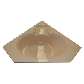 American Acrylic 60 X 60 Soaker Corner Oval Bathtub Reviews