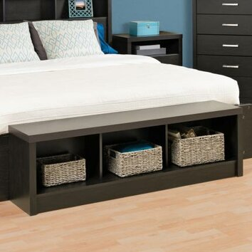 Prepac District Storage Bedroom Bench & Reviews  Wayfair
