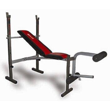 Innova Fitness Innova Wbx200 Deluxe Standard Weight Bench