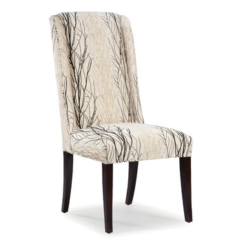 Highback dining chair chair covers amp dining chairs