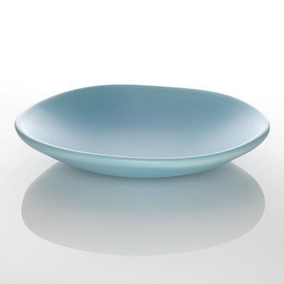 David Edmonds Vege Round Dish in Duck Egg Blue by David Edmonds