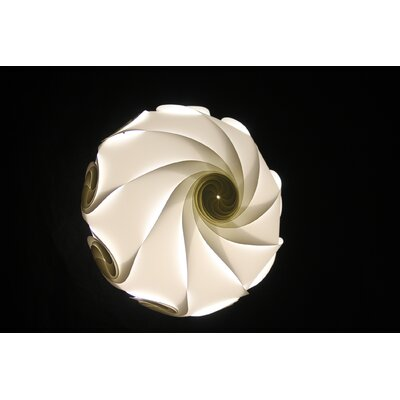 "Electric Firefly Designs 12"" Plastic Lamp Shade"