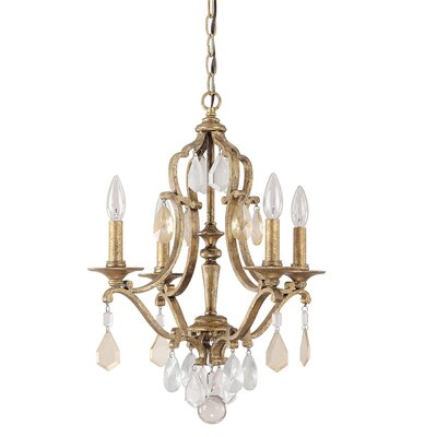 Blakely 4 Light Crystal Chandelier