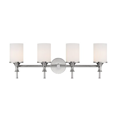 Bathroom Vanity Lights on Capital Lighting Studio Four Light Bath Vanity In Polished Nickel