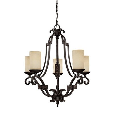 Capital Lighting River Crest 5 Light Chandelier