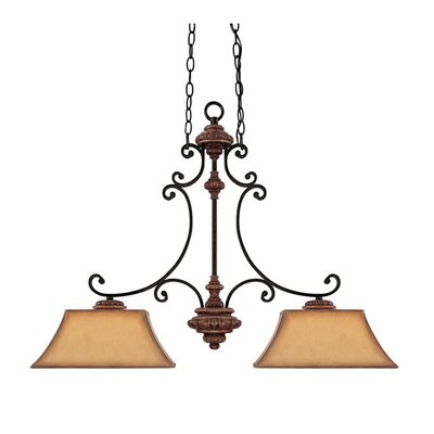 Foxborough 2 Light Kitchen Island Pendant