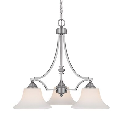 Capital Lighting Towne and Country 3 Light Chandelier