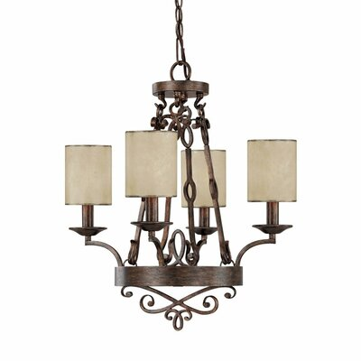 Capital Lighting Reserve 4 Light Chandelier