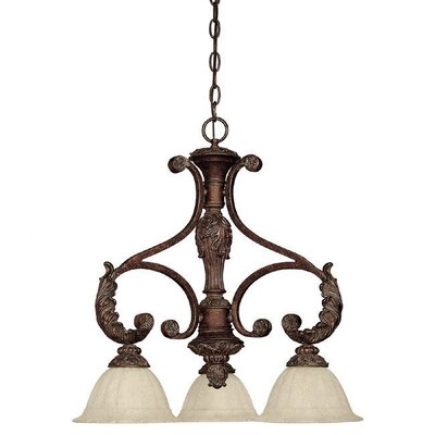 Capital Lighting Monarch 3 Light Kitchen Island Pendant