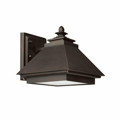 Capital Lighting Outdoor 1 Light Wall Lantern