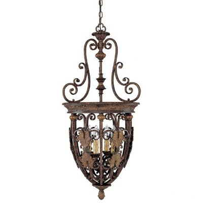 Capital Lighting Forrest Lake 4 Light Foyer Pendant