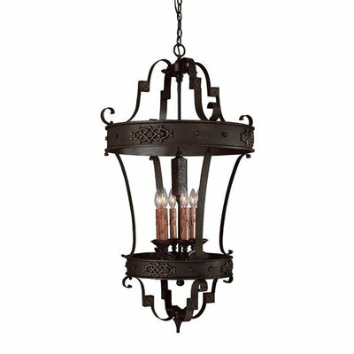 River Crest 6 Light Foyer Pendant
